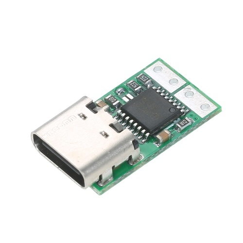 USB-C PD2.0/3.0 to DC Converter Power Supply Module Decoy Fast Charge Trigger Poll Polling Detector Tester Converting Laptop Power Supply to Type-C