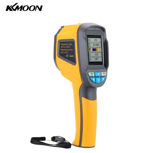 Câmera de imagem térmica portátil KKmoon Professional HT02 Termômetro infravermelho portátil Dispositivo de imagem de infravermelho IR Imaging infravermelho