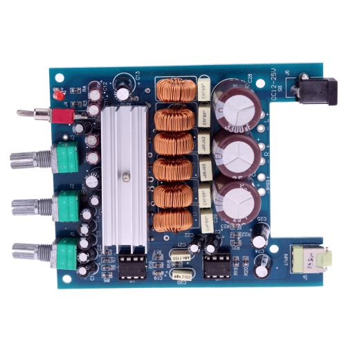 TPA3116 NE5532 50W*2+100W 2.1 Class D Digital Subwoofer Power Amplifier Board DC18V-24V