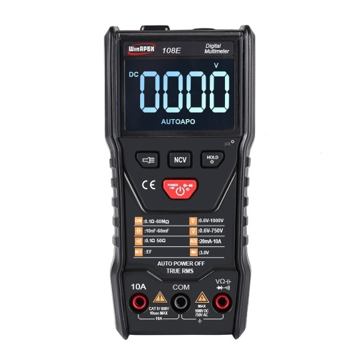 WinAPEX 108E 6000は自動スキャンTrue RMSデジタルマルチメーターをカウントします