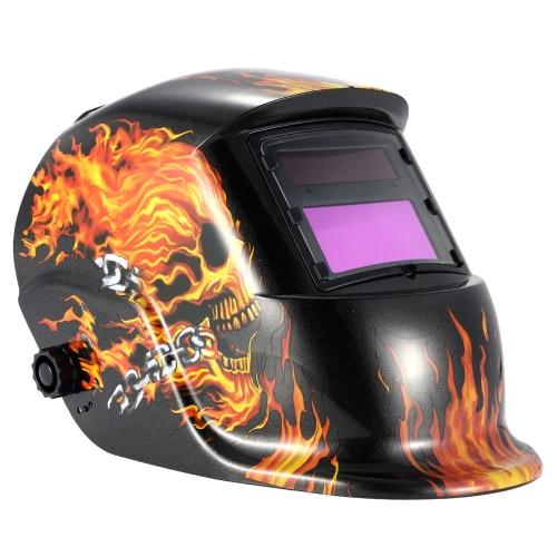 High Quality PP Professional Solar Welding Helmet Auto-Darkening Welder Mask Healthy Safe Protective Equipment