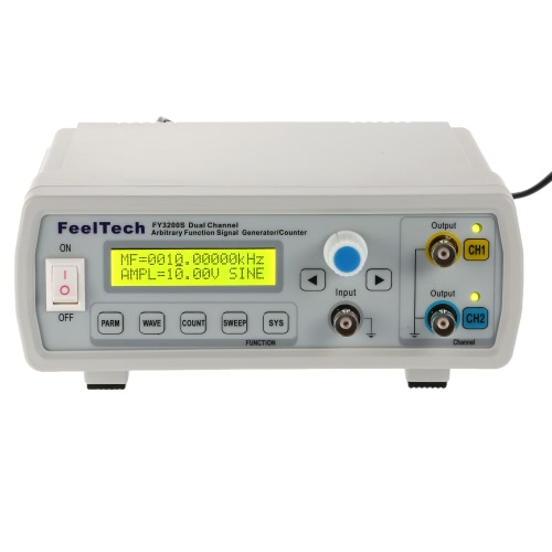 High Precision Digital DDS Dual-channel Function Signal Source Generator