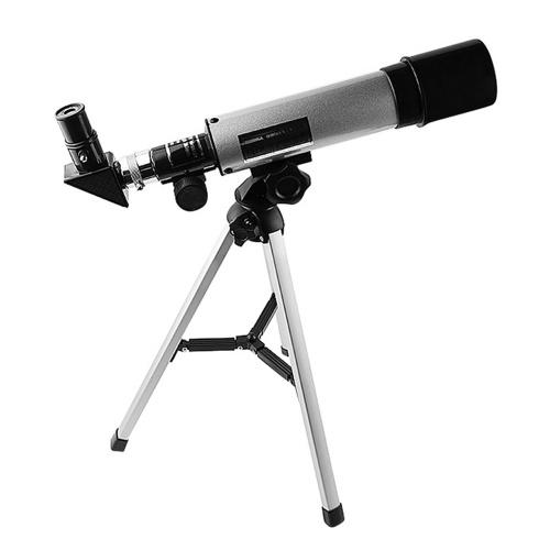 屈折天体望遠鏡三脚50mm口径360mm焦点距離90X最大倍率