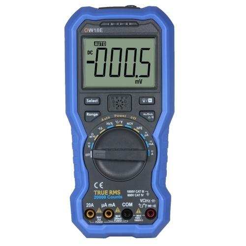 OWON OW18E 41/2桁SmartBLE4.0マルチメーターTrueRMSデジタル高精度LCDマルチメーター