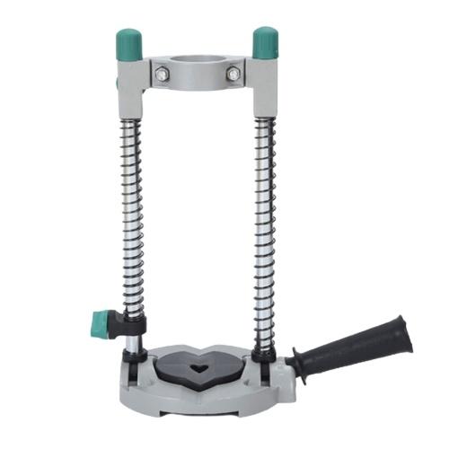 ドリルガイド電動ドリルプレススタンド45°調整可能なモバイルスイベル作業ツール