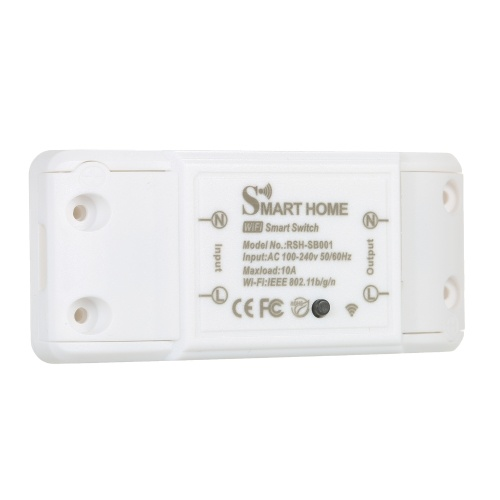 KKmoon WiFi Smart Switch Module Intelligent Household Home Appliances Controller Mobile APP Remote Control Timer Voice Control