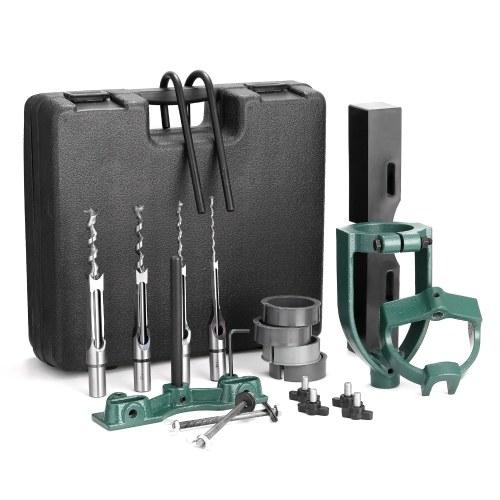Square Tenon Machine Accessory Set Drill to Tenon Machine Conversion Tool Set Mortising Machine Utility Woodworking Tool
