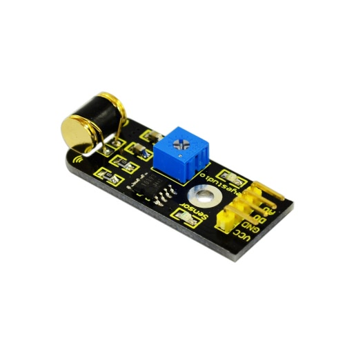 Arduinoのためのブランドの新しいKeyestudio振動センサモジュール - ブラック