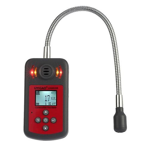 UYIGAO nagelneue bewegliche Hand Automobil Mini brennbares Gas-Detektor Gas-Leck-Standort zu bestimmen Tester mit LCD-Display Ton und Licht Alarm