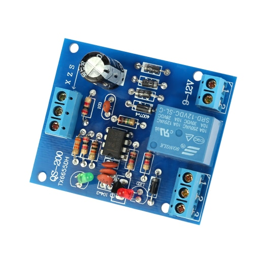 9V-12V AC/DC Liquid Level Controller Water Level Detection Sensor Drainage Pump Water Control Module