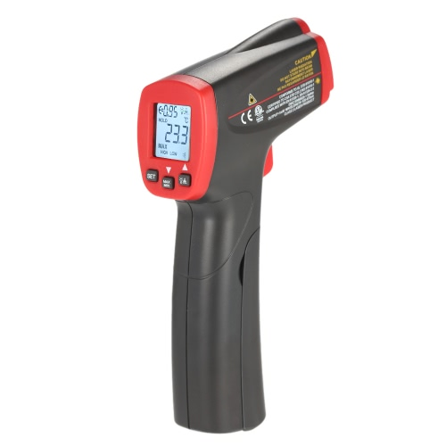UNI-T UT300S -32~400°C 12:1 Mini Handheld Non-contact Digital Infrared IR Thermometer Temperature Tester with Alarm Adjustable Emissivity