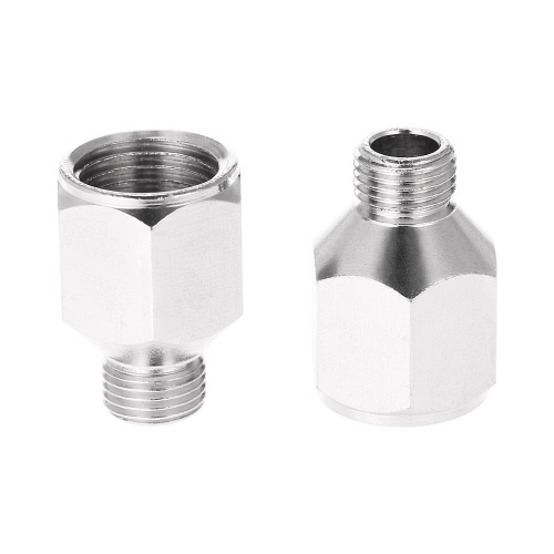 2pcs professionnels Airbrush Air Hose Adaptor G1 / 8