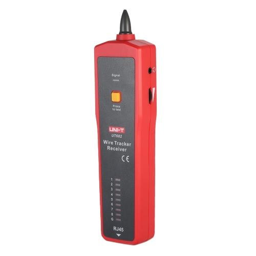 UNI-T UT682 Многофункциональный портативный тестер провода Tracker RJ11 RJ45 Wire Line Finder Тестирование кабеля Инструмент для обслуживания сети