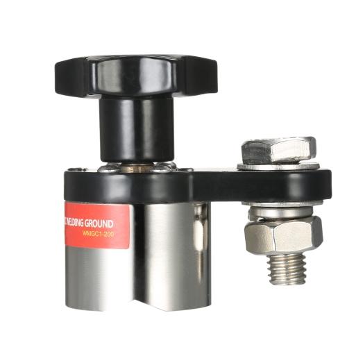 Tenedor de soldadura magnético de la abrazadera de tierra de la soldadura de tamaño pequeño 200A