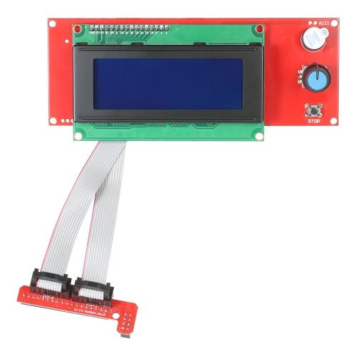 3D-принтер Reprap Smart Controller Reprap Ramps 1.4 2004 Контроллер ЖК-дисплея Интеллектуальный дисплей Контроллер Интеллектуальный контроллер LCD Control Board