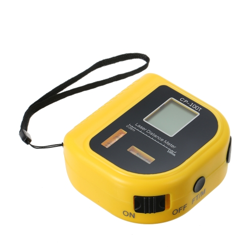 Telemetro laser portatile Tester laser a infrarossi con asta laser Laser Distanza opzionale 40 m 60 m 80 m 100 m