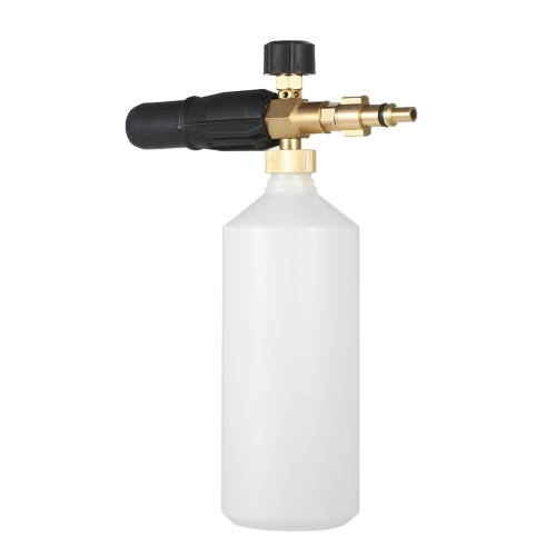 Adjustable Foam Lance 1L Bottle Snow Foam Nozzle Injector
