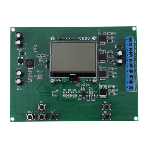 Trasmettitore di sorgente digitale da 4-20mA Current Current 4-channel Current Signal Module Module con display LCD