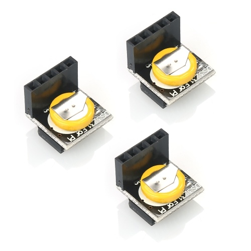 3pcs Mini alta precisione 3.3 V / 5 V Real Time Clock Module Modulo di memoria per Arduino Raspberry Pi