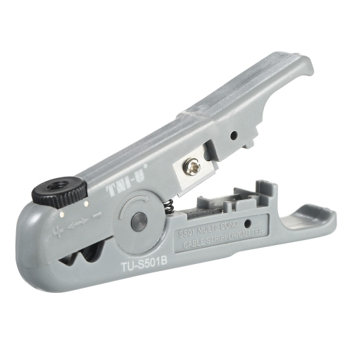 TNI-U TU-S501B Multifunctional Wire Stripper Cutter Network Cable Phone Wire Stripping Tool