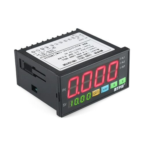 Indicatore di carico digitale Display LED Indicatore celle di carico 1 ~ 4 Celle di carico Ingresso segnali