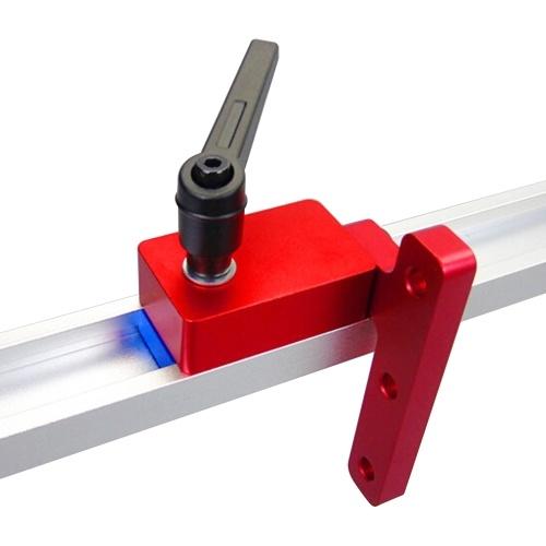 T-tracce standard T-Slot Mitra Track Stop Chute Stopper Manuale Lavorazione del legno Strumenti fai da te Forniture