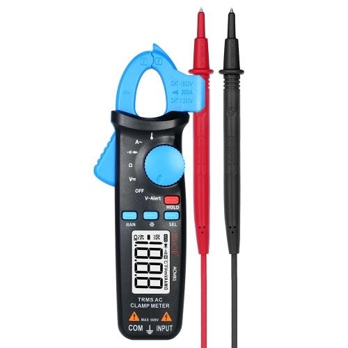 Il multimetro digitale AC Cluster di BSIDE conta il multimetro portatile della gamma automatica