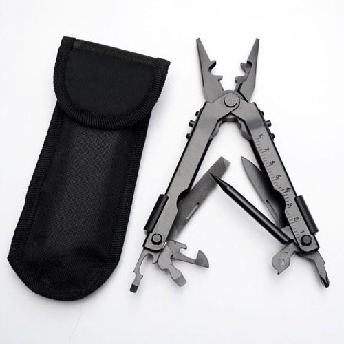 Einstellbare Falten Multifunktionale Mini Zange Tragbare Stahl Clamp Cut Schraubendreher Camping Überleben Notfall Werkzeuge Reise Kit