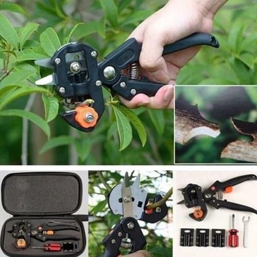 Haushalt Garten Pfropfwerkzeug Set Obstbaum Professionelle Gartenschere Schneidwerkzeug Kit