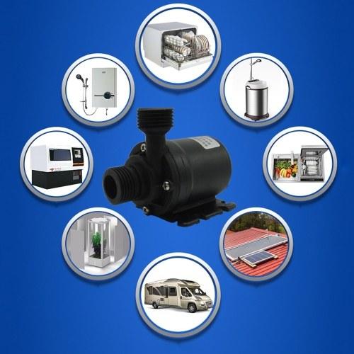 Mini bomba de agua sumergible sin escobillas micro Bomba de agua ultra silenciosa 5M Bombas de agua sumergibles sumergibles de 800L / H