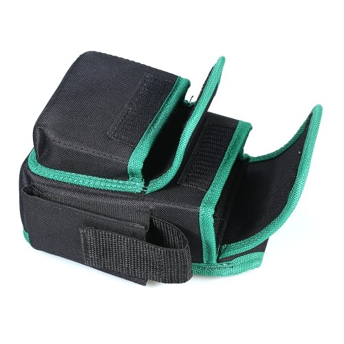 LAOA Tool Bag Tool Storage Bag Pouch for Tool Electrician Tool Bag Tool Pouch Square Storage Tool Bag with Waist Belt