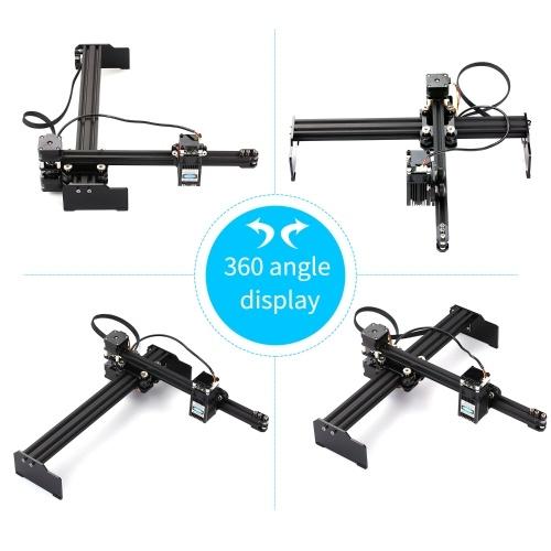 7W Laser Engraving Machine High Speed Mini Desktop Laser Engraver Printer