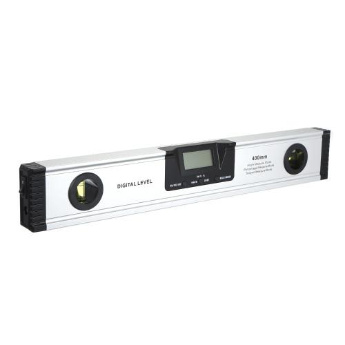 400mm Digital La-ser Misuratore di livello Angolo Misuratore di angolo Strumento di misurazione per carpenteria / Edificio / Automobile