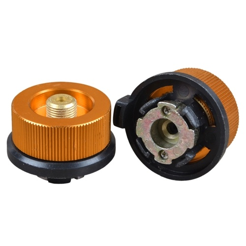 2PCS Stove Heads Converter Round Adapter Camping Stove Converter Equipment
