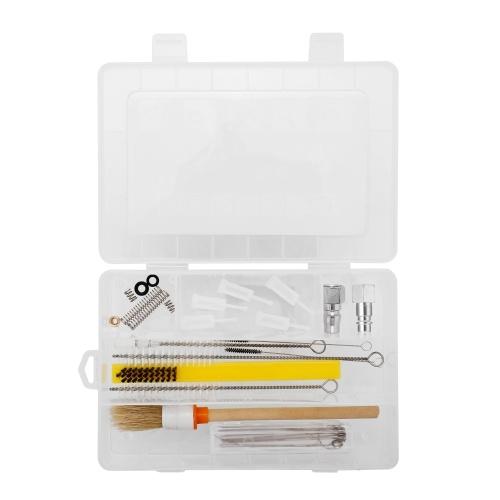 Профессиональный многофункциональный аэрограф Специальный набор для чистки Чистый аэрозольный комплект с разъемами
