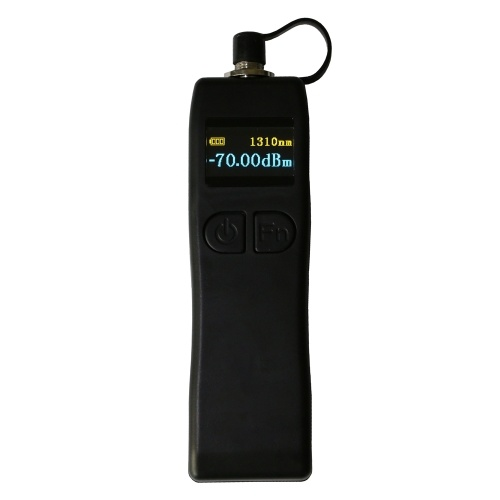YJ-320A Portable Mini Fiber Optical Power Meter Handheld 6 Wavelengths Fiber Optic Power Tester Machine Visual Fault Locator