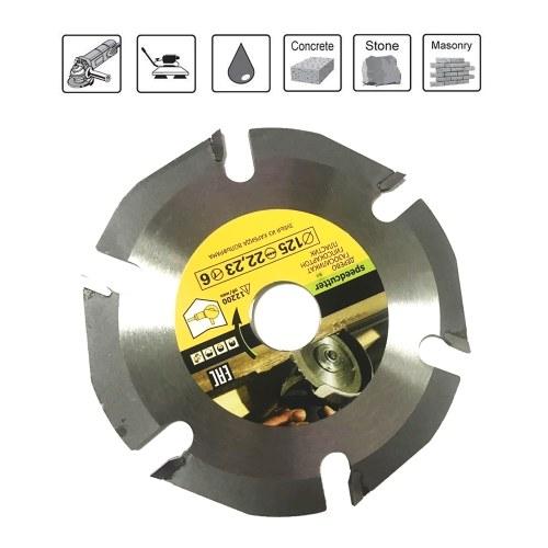 125mm 6T Hoja de sierra circular Multiherramienta amoladora Disco de sierra Disco de corte de madera con punta de carburo Herramienta de disco de talla Hojas de herramienta múltiple