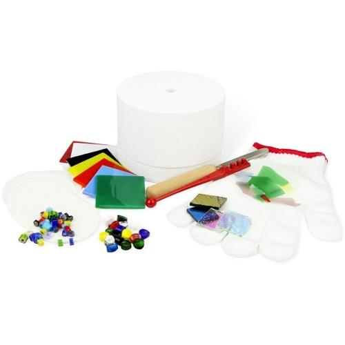 Professional Microwave Kiln Kit DIY Fusing Glass Jewelry Set 10pcs/set Microwave Kiln for DIY Jewelry Glass Fusing Kiln Tools