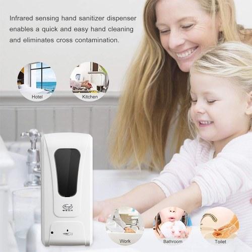 Fengjie Bathroom Touchless Hand Soap Machine Hospital School Wall-mounted Sanitizer Spray