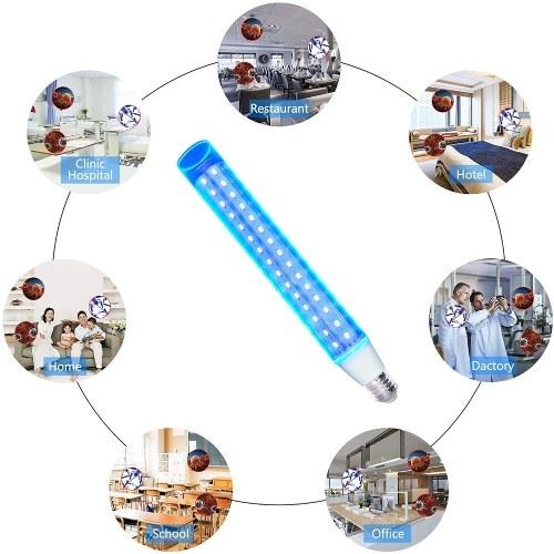 E27 UVC Ультрафиолетовая лампа накаливания с УФ-лампой 28W Лампа для дезинфекции Стерилизационные лампы против клещей Бактерицидная лампа накаливания AC110V-220V 28W фото