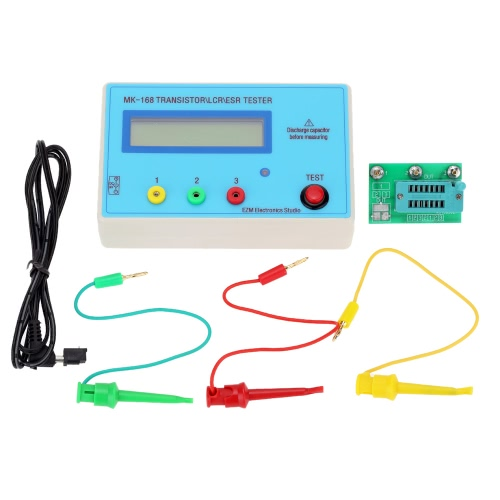 Portable MK168 LCD Backlight Transistor Tester