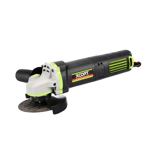 800W Winkelschleifer 4-1 / 2 Zoll elektrische Schleifmaschine 10000 U / min Schneiden Schleifen von Metall Holz mit Hilfsgriff EU-Stecker