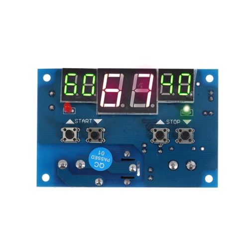 12V Intelligent Digital LED Thermostat -9°C-99°C Temperature Controller Heating Cooling Control
