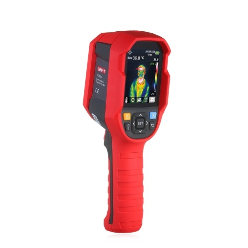 UNI-T Professional Thermal Imager Infrared Thermal Imaging Camera 30℃~45℃(86℉~113℉) TIC Handheld Infrared Camera Thermographic Camera with High Temperature Buzzer Alarm