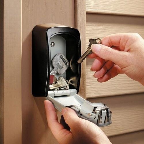 Master Lock Keys Storage Box Keys Keeper Lock Outdoor Wall-Mounted Combination Password Lock for Security