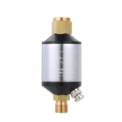 Heavy Duty Air Compressor Filter Dryer for Sprayer Water Separator Plasma Cutter Air Line Filter Water Trap