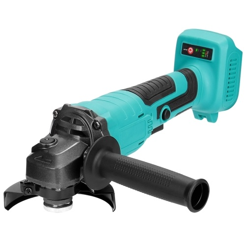 125mm Portable Multifunctional 18V Electric Angle Grinder 11000rpm High Rotation Speed Grinding Tool for Cutting Wood Iron