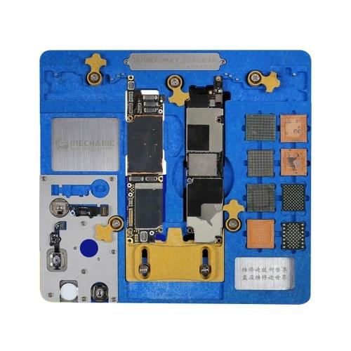 iPhone5-XRメインボードメンテナンスツールと互換性のある多機能フィクスチャツールを修復する携帯電話