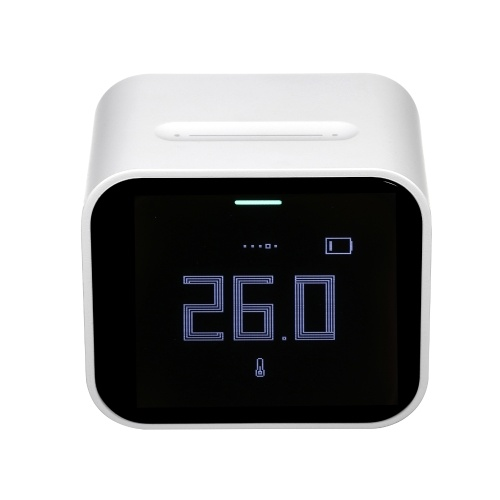 Multi-Functional Air Quality Detector Home Office School Use Digital Display PM2.5/PM10/CO2/Temperature/Humidity Monitor