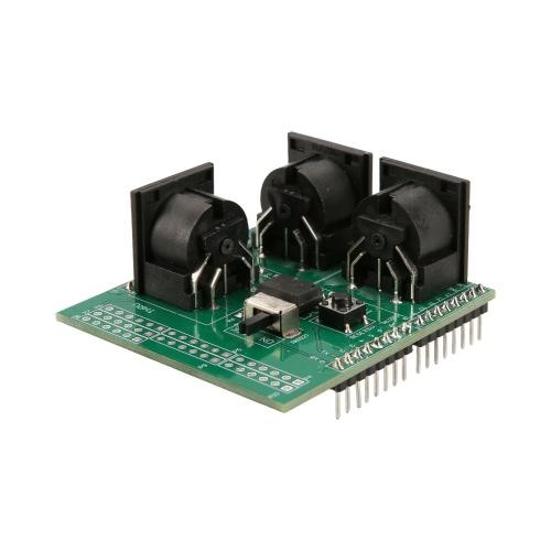 MIDIシールドミュージカルブレイクアウトボード楽器デジタルインターフェースMIDIアダプタープレートArduinoアダプターボードモジュールと互換性があります